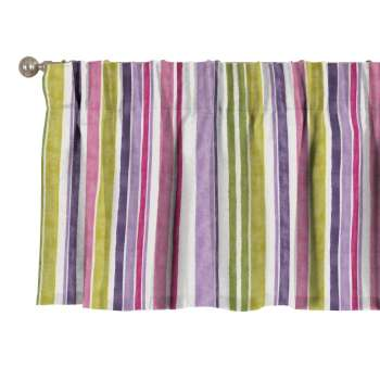 Pencil pleat pelmet, 130 × 40 cm (51 × 16 inch), Fabric 140-01 from collection Monet