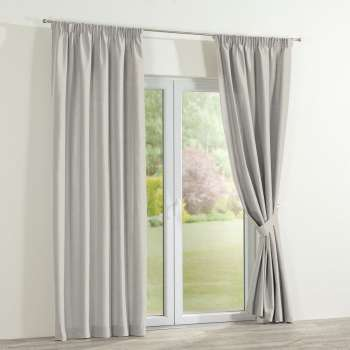 Pencil pleat curtains, 130 x 260 cm (51 x 102 inch), Fabric 702-31 from collection Cotton Panama