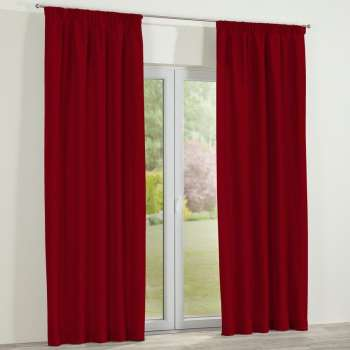 Pencil pleat curtains, 130 x 260 cm (51 x 102 inch), Fabric 127-15 from collection Jupiter