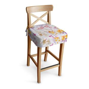 Ingolf bar stool seat pad cover, Ingolf bar stool, Fabric 140-04 from collection Monet